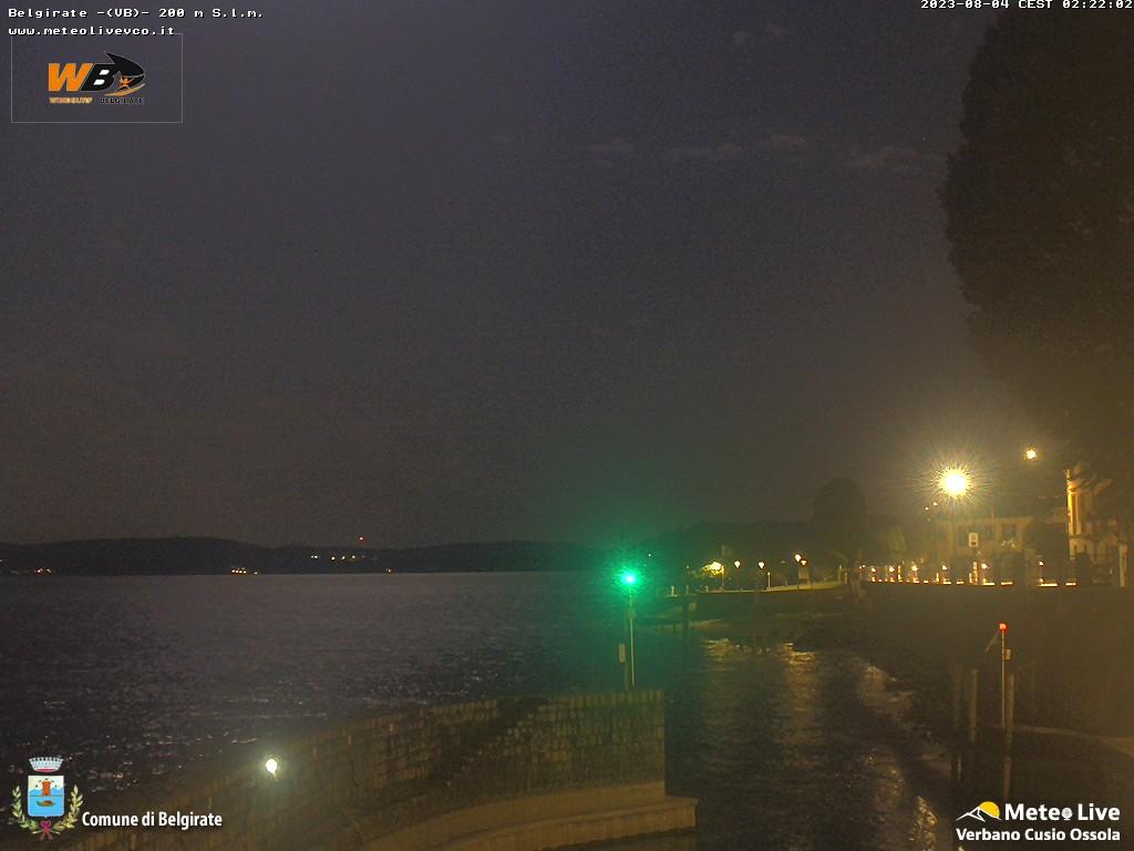 Belgirate - Lago Maggiore - Vista sulla darsena
