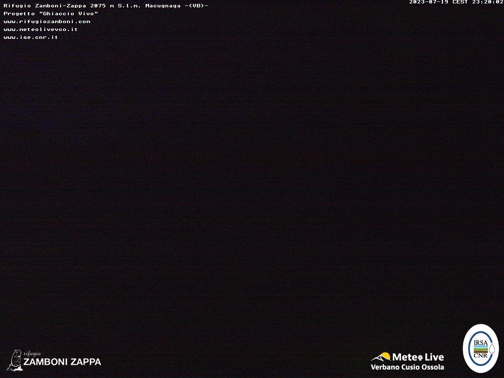 Webcam Rifugio Zamboni-Zappa Macugnaga Piemonte