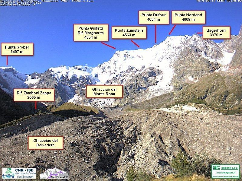 Webcam Monte Rosa