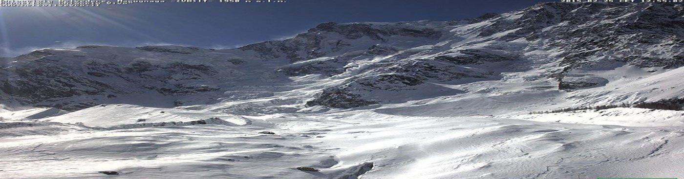 medie climatiche ghiacciaio belvedere
