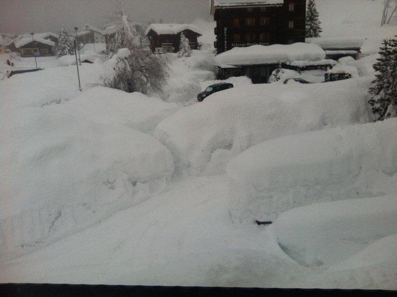 La neve in Ossola