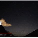 Incendi sulle Alpi in aumento per la mancanza di neve, video dalla Valchiavenna.