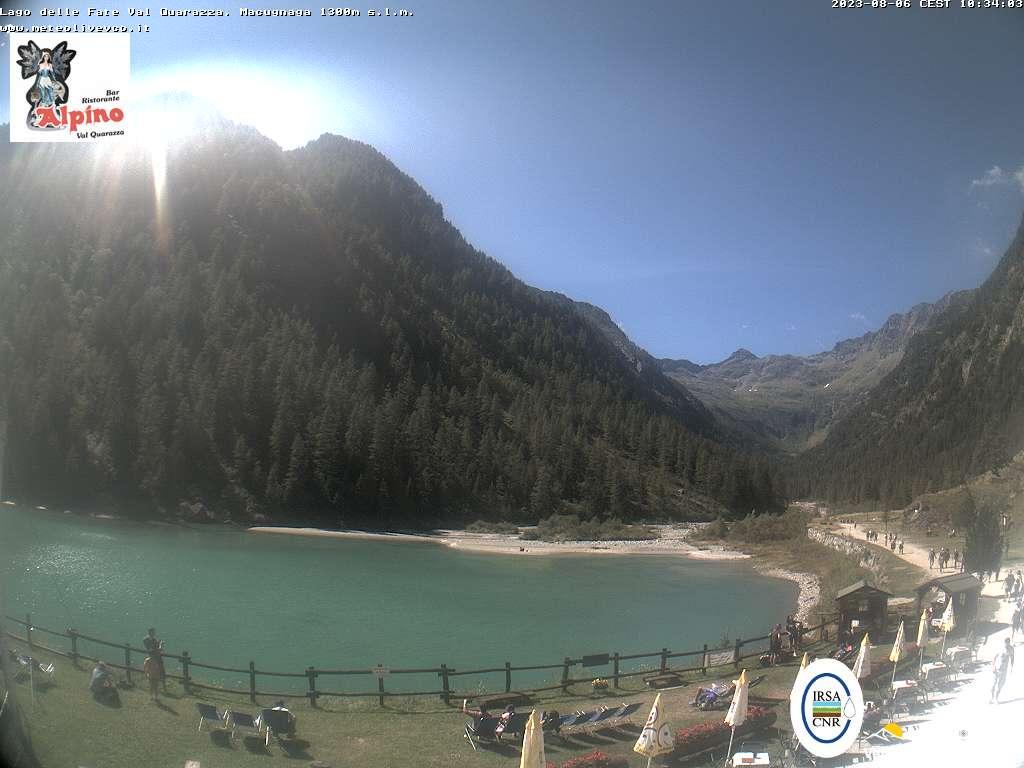 Webcam Macugnaga, Lago delle Fate.