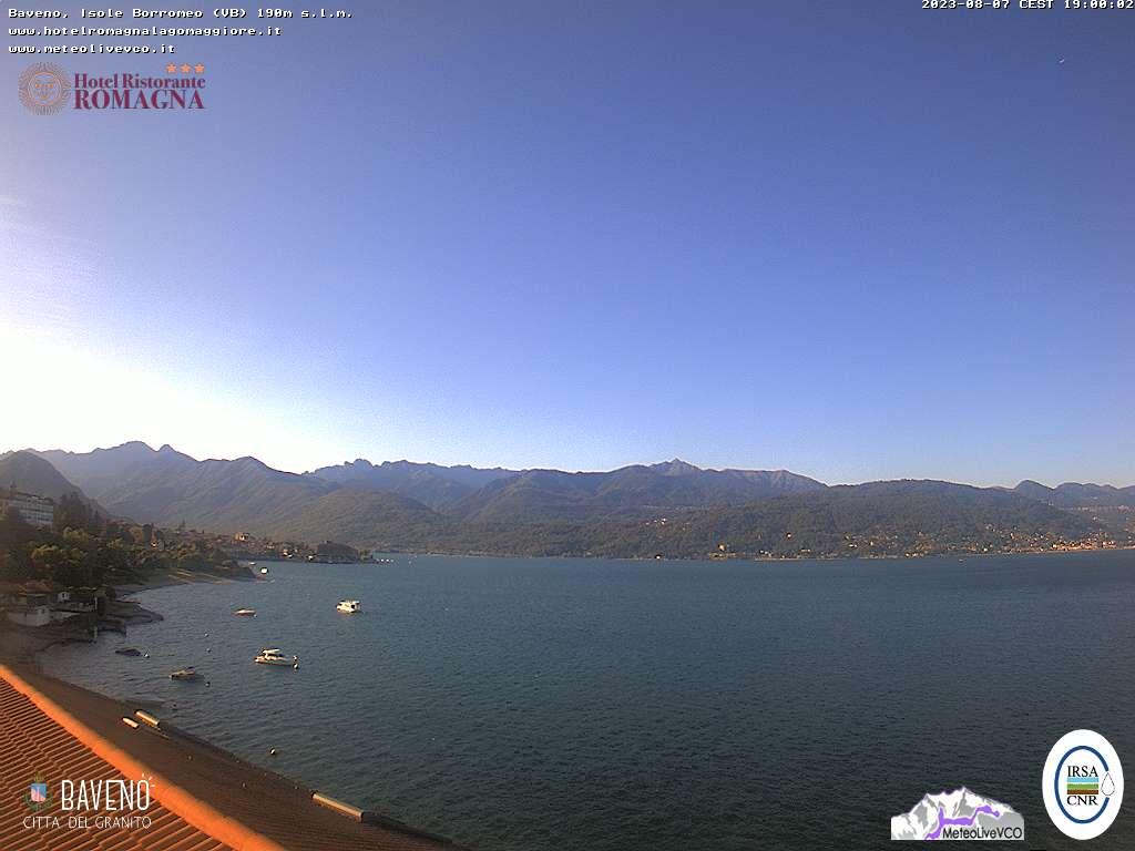 Webcam Isole Borromee