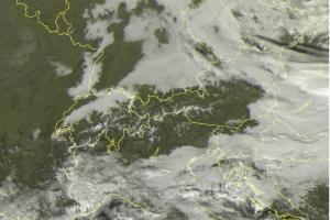 Satellite nord Italia