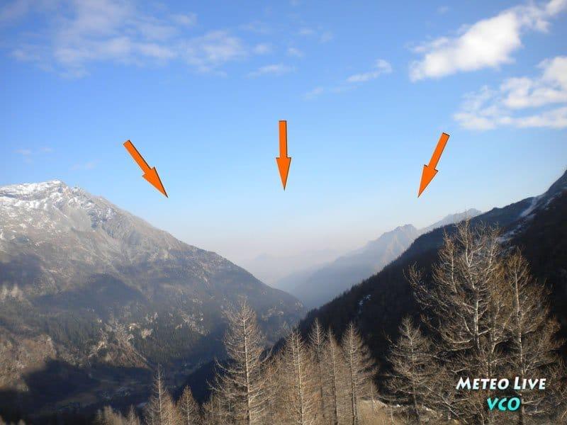 smog sulle Alpi