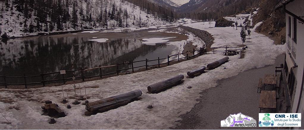 la glaciazione al lago delle fate