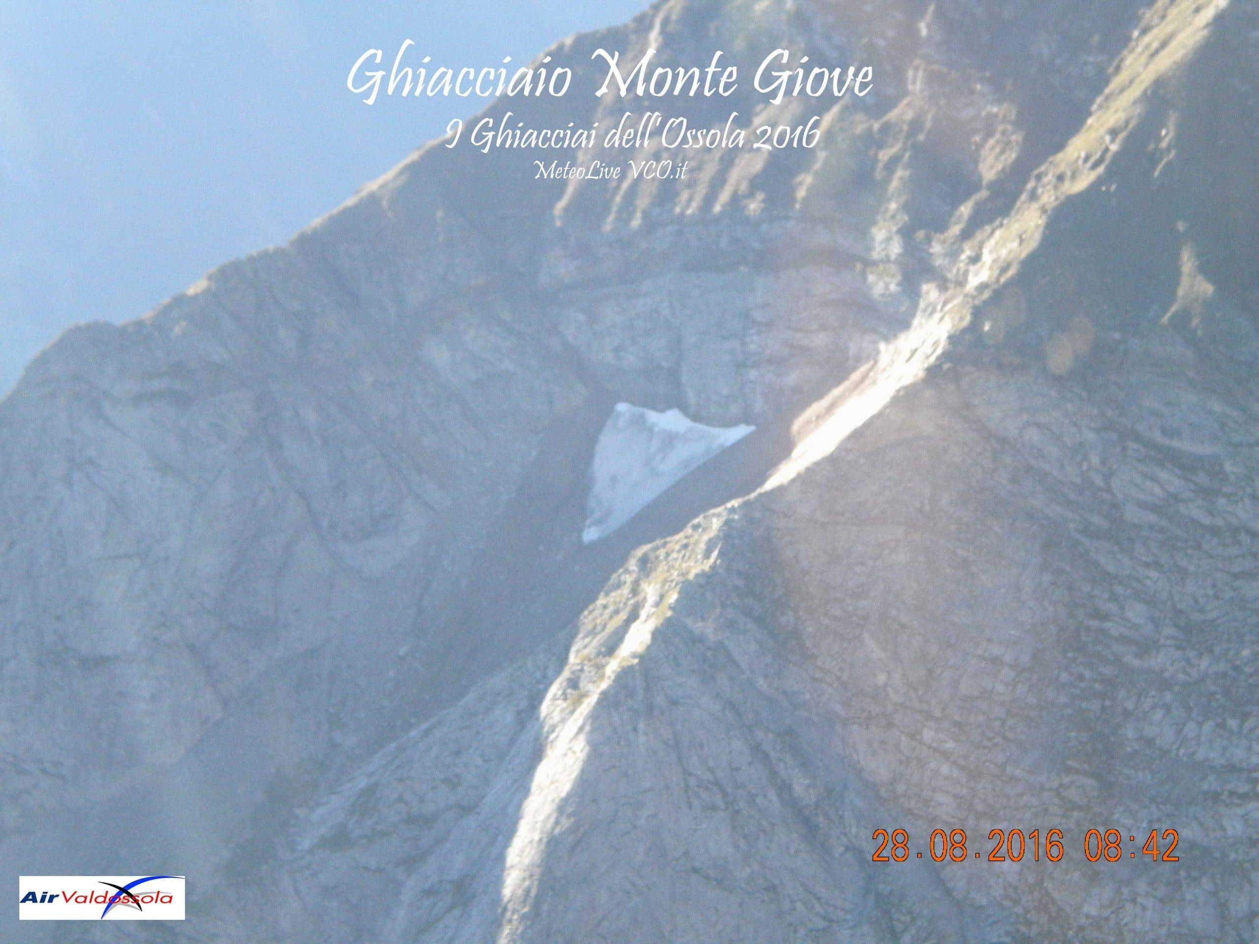 Ghiacciaio Monte Giove
