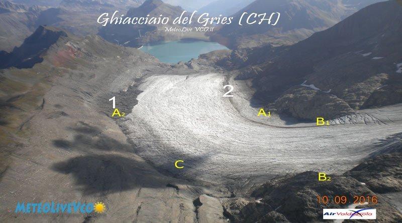 ghiacciaio del Gries