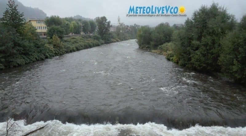 METEO, finalmente le piogge. Torrenti innalzati velocemente, la terra secca e dura non assorbe.